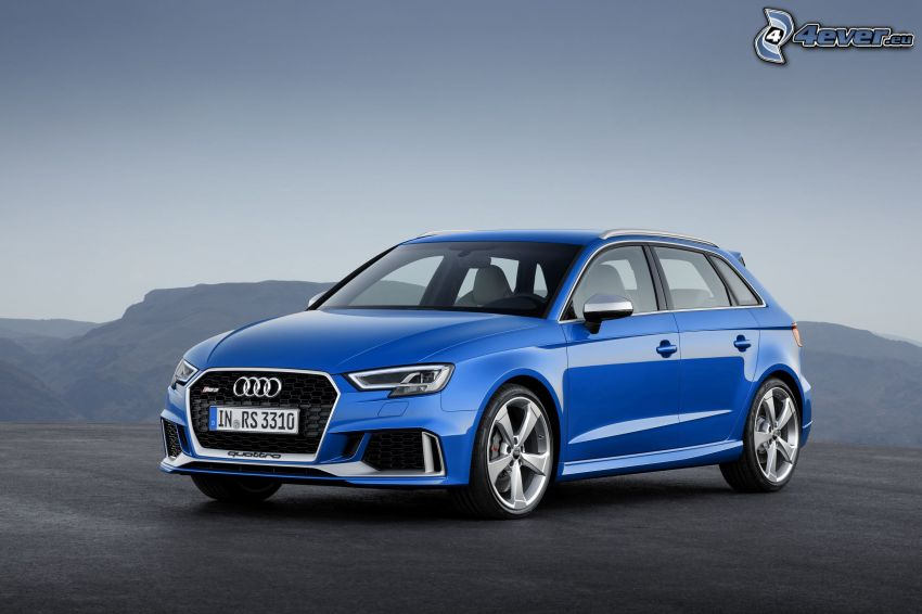 Audi RS3, pohorie