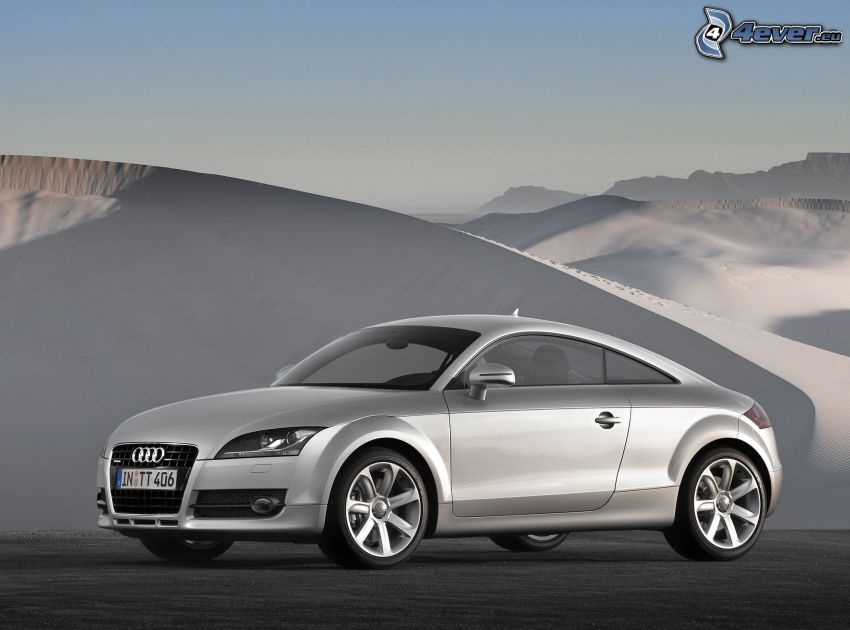 Audi TT, piesočné duny