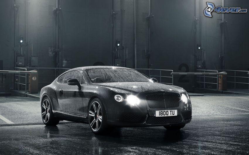 Bentley Continental, svetlá, čiernobiele