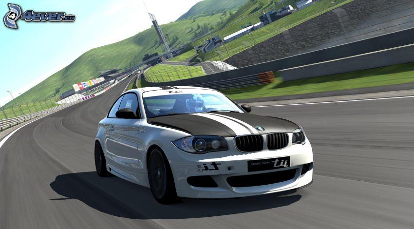 BMW Gran Turismo, cesta, rýchlosť
