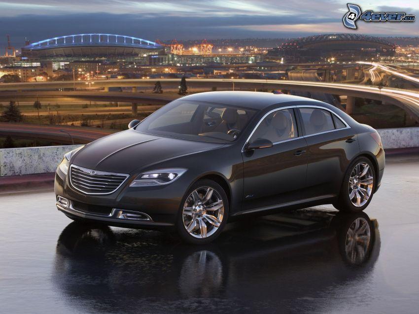 Chrysler 200, koncept, výhľad na mesto