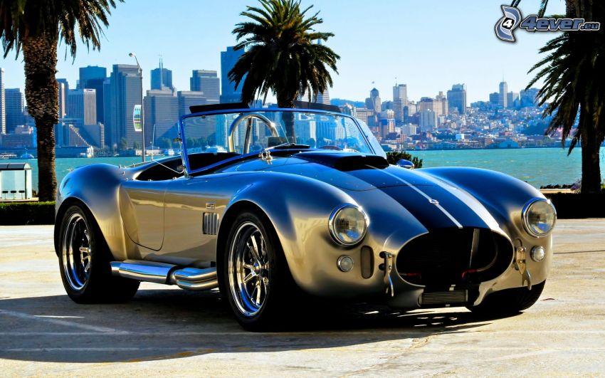 Cobra Roadster, kabriolet, mesto