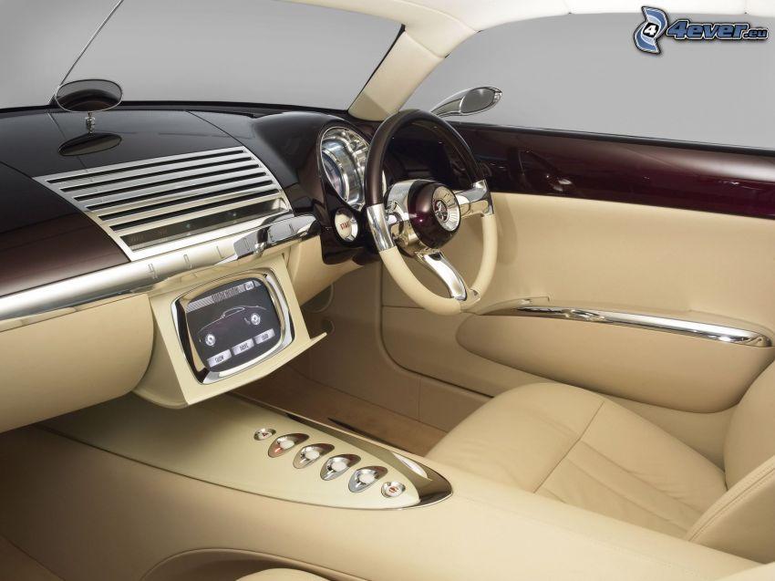 Efijy Concept, interiér, palubná doska, volant