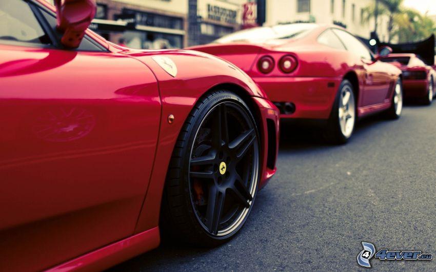 Ferrari 550 Maranello, koleso