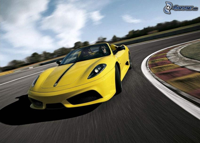 Ferrari F430 Scuderia, rýchlosť