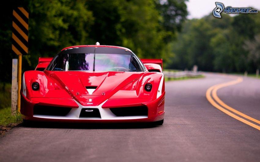 Ferrari FXX, cesta
