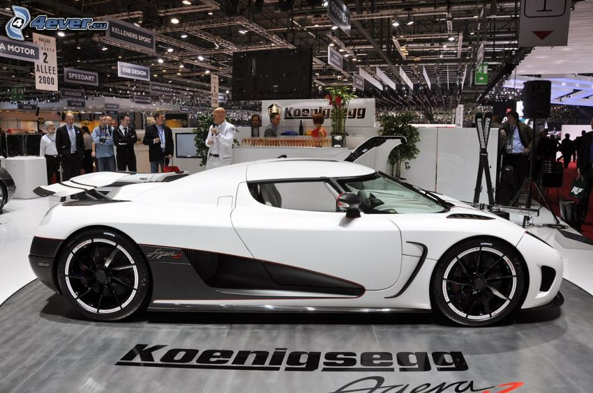 Koenigsegg Agera R, výstava, autosalón