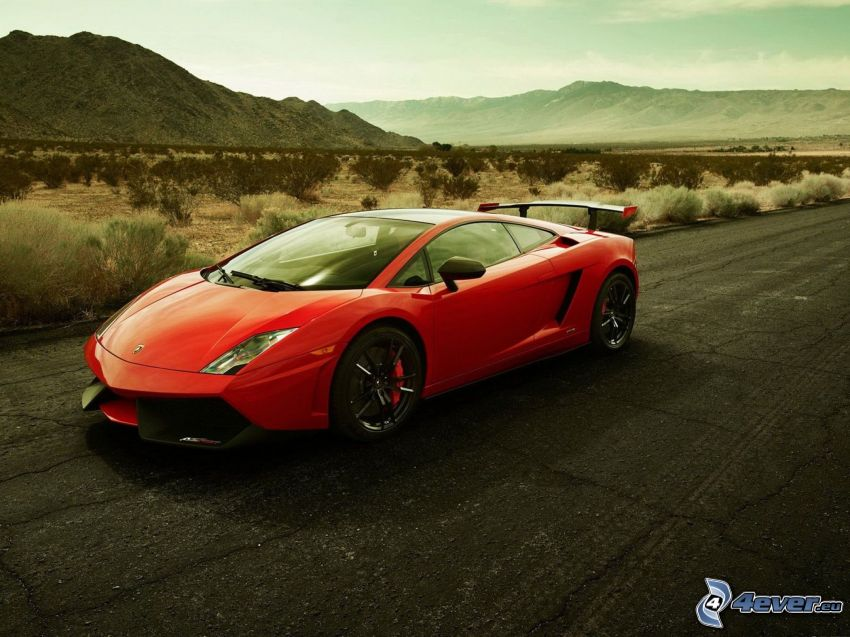 Lamborghini Gallardo LP570, pohorie