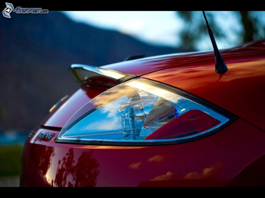 Mitsubishi Eclipse, zadné svetlo