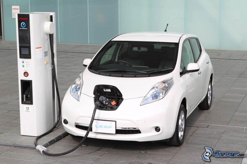 Nissan Leaf, nabíjanie