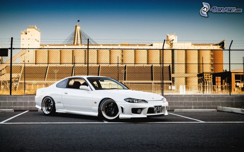 Nissan Silvia, parkovisko