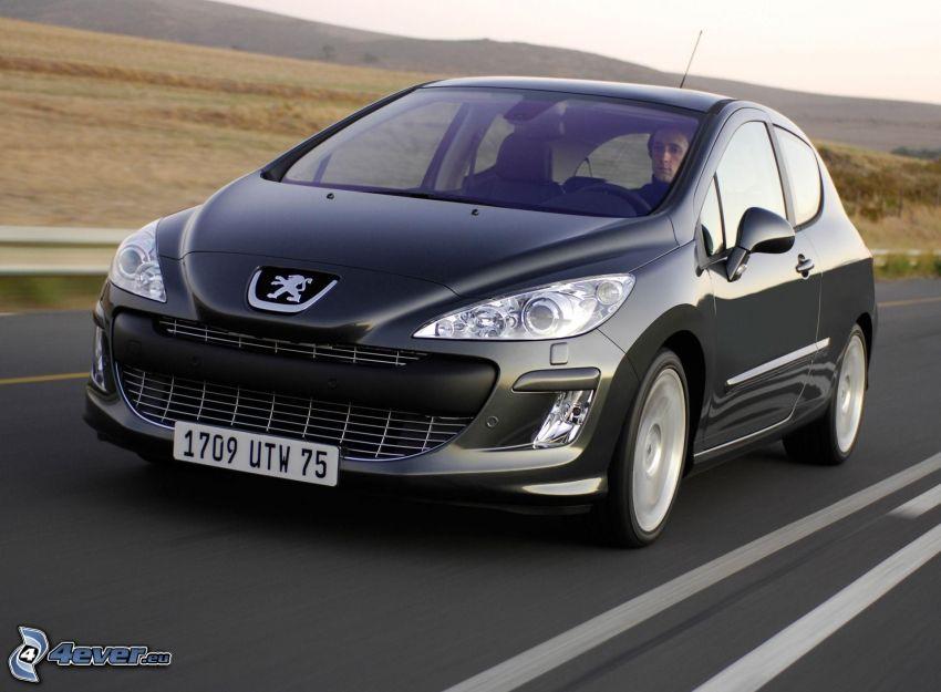 Peugeot 308RCZ, rýchlosť