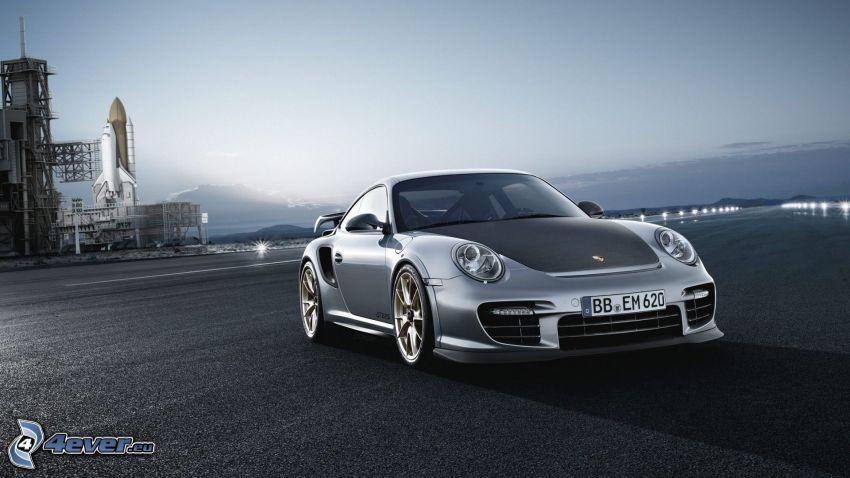 Porsche 911 GT2, raketoplán
