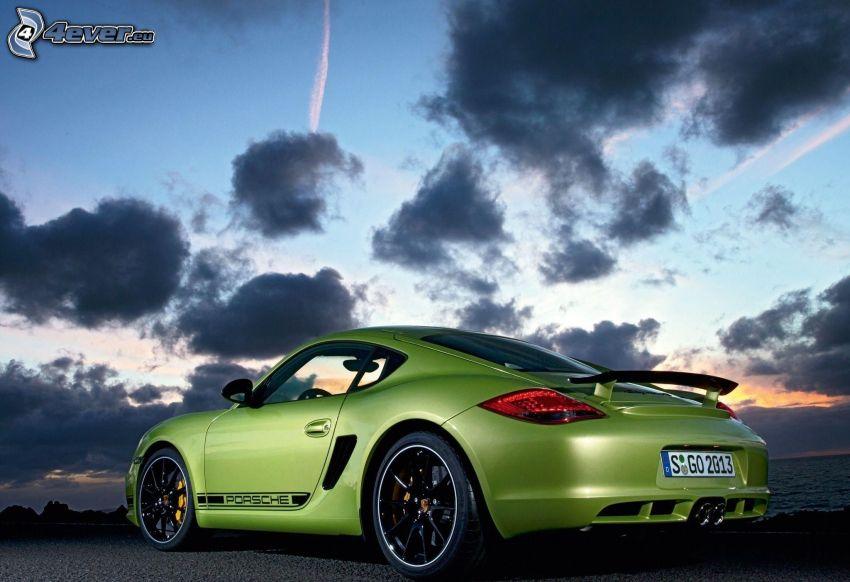Porsche Cayman, oblaky