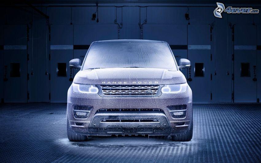 Range Rover, námraza