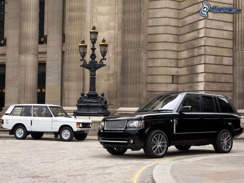 Range Rover, veterán, evolúcia, lampa
