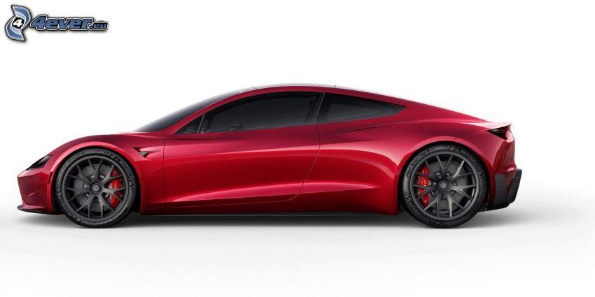 Tesla Roadster 2, elektrické auto
