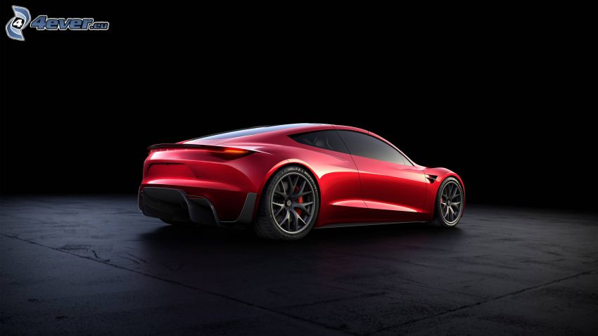 Tesla Roadster 2, koncept, elektrické auto