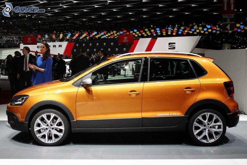 Volkswagen Cross Polo, výstava, autosalón