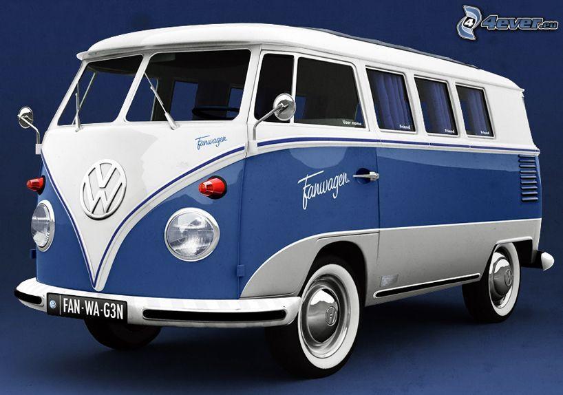 Volkswagen Type 2, autobus, veterán