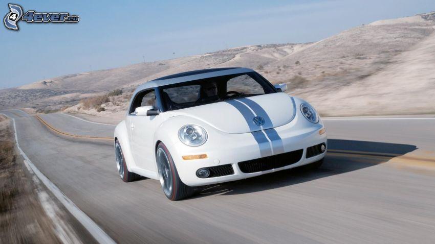 Volkswagen Beetle, cesta, rýchlosť