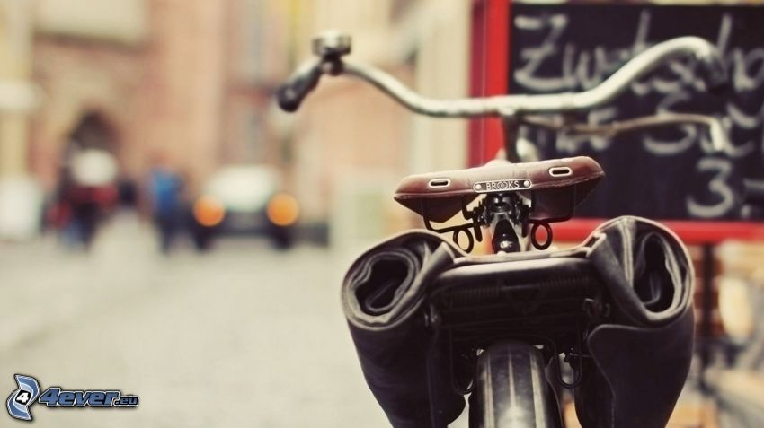 bicykel, ulica