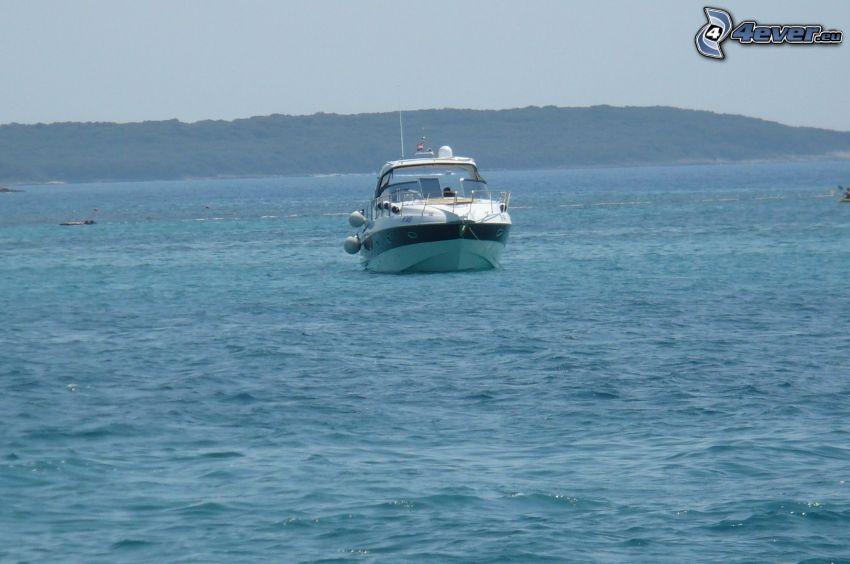 čln, more
