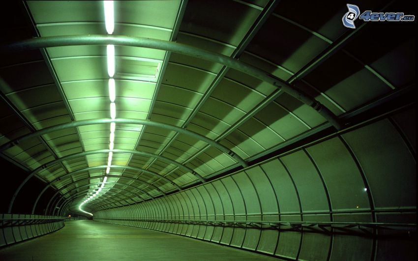 tunel, cesta