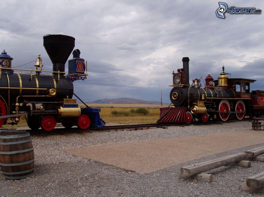 Jupiter, No. 119, parná lokomotíva