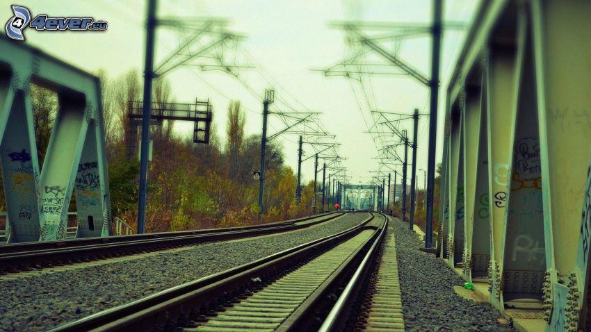 koľajnice, železnica