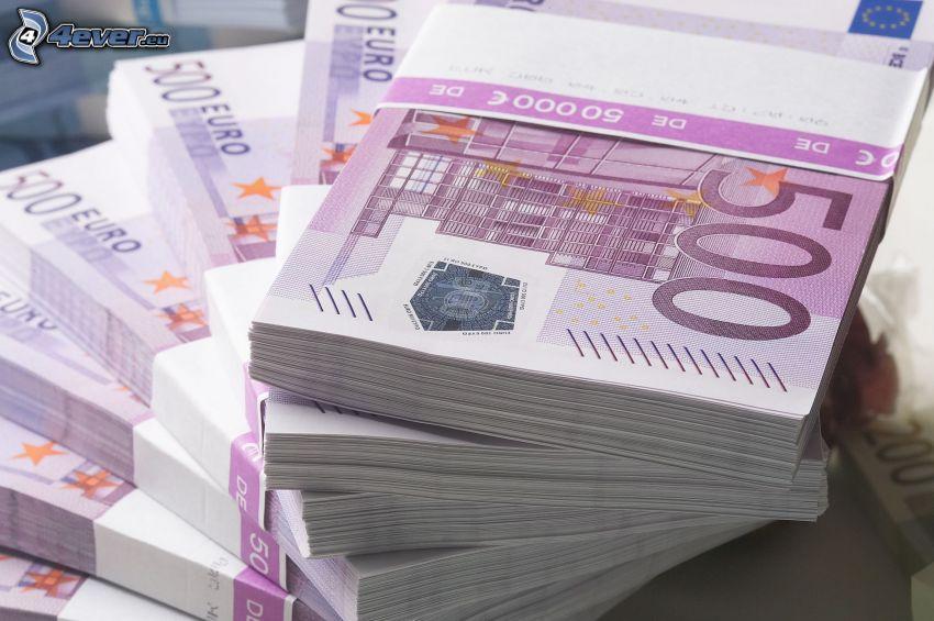 bankovky, peniaze