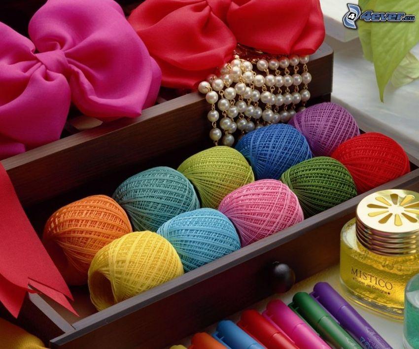 farebné bavlnky