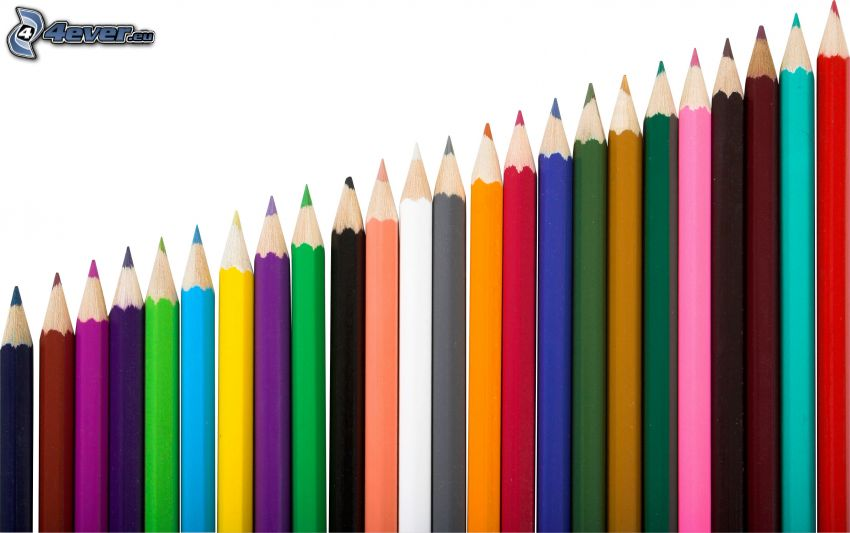 farebné ceruzky