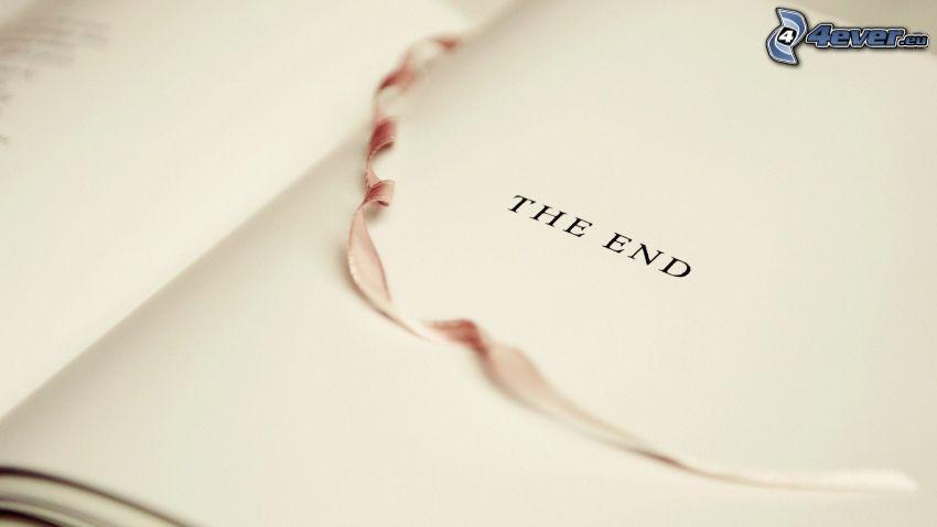 koniec, kniha