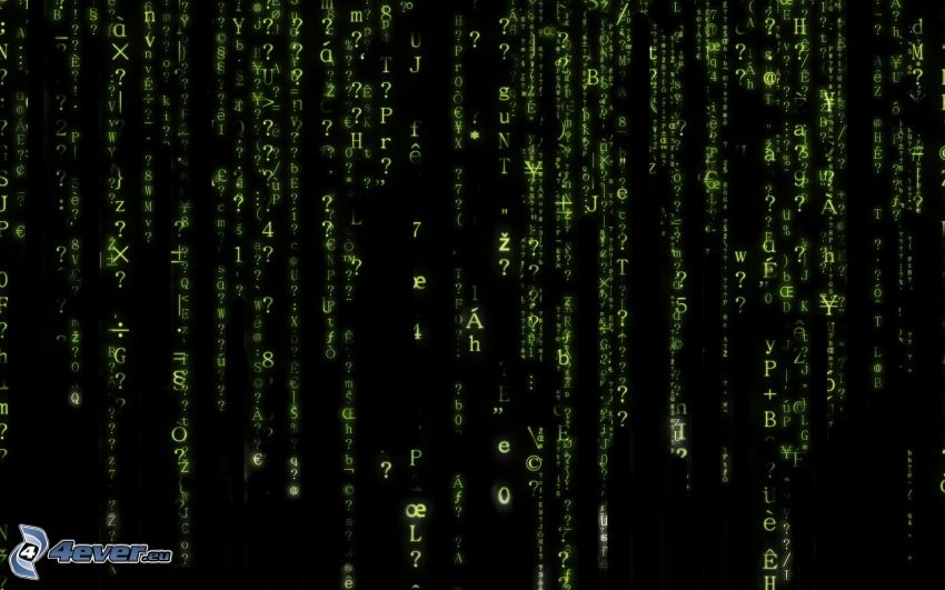 Matrix, písmená