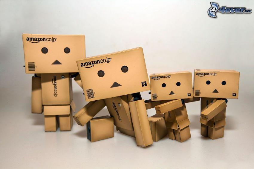 papierový robot, rodina