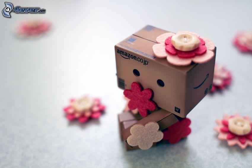 papierový robot