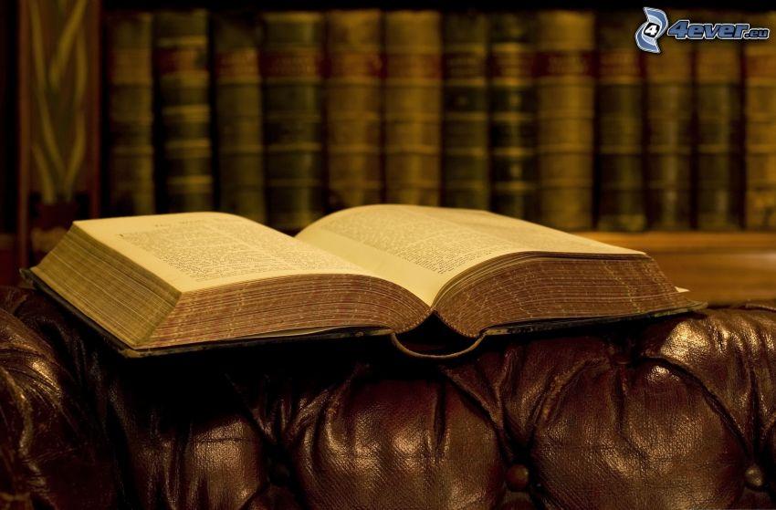 stará kniha, knižnica