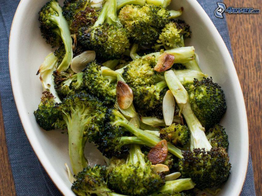 brokolica, miska