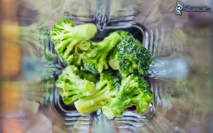 brokolica, nádoba