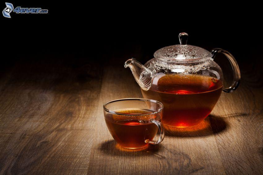čaj, čajník