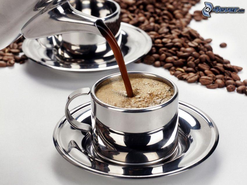 káva, kávové zrná