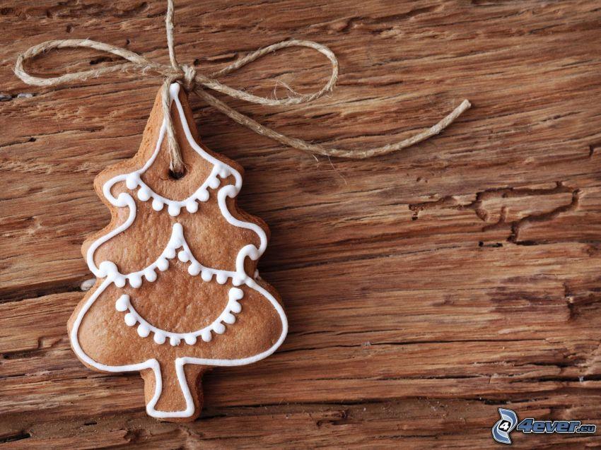 perník, vianočný stromček