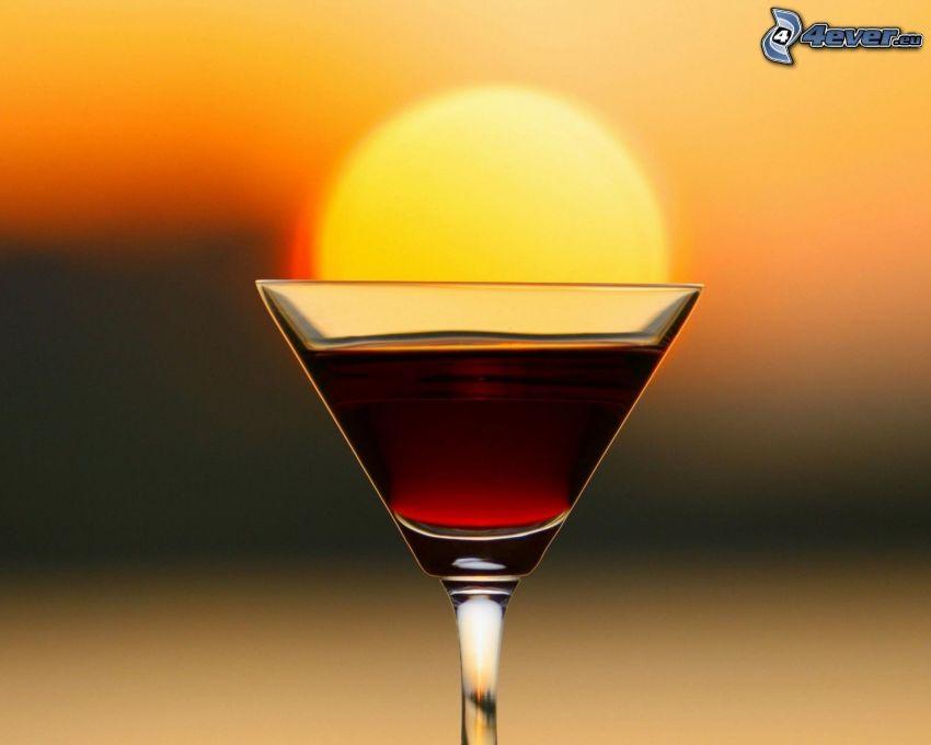 tequila, západ slnka