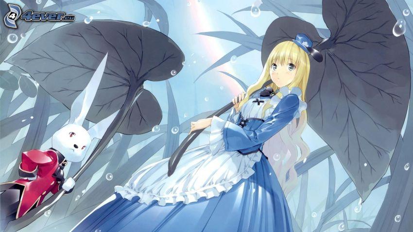 Alica v krajine zázrakov, zajac