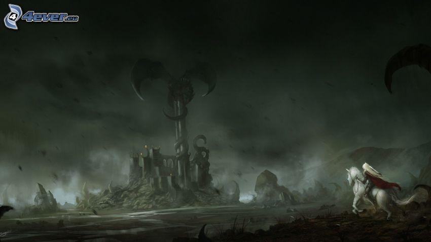 krajina, fantasy
