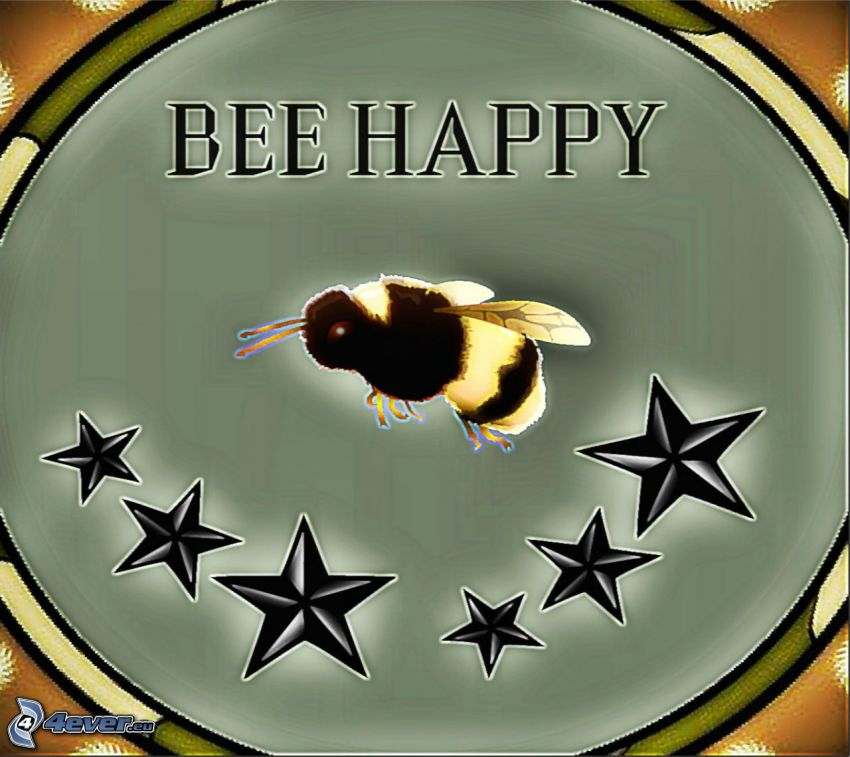 Bee Happy, včela