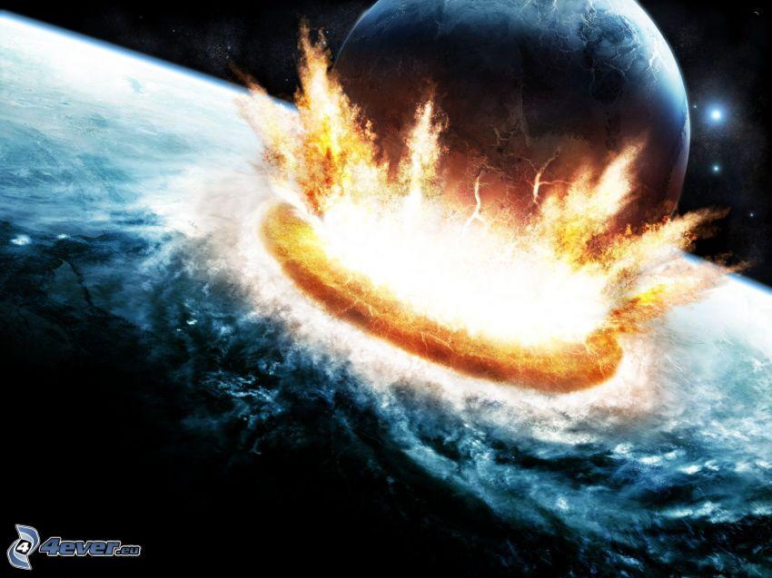 apokalyptický náraz