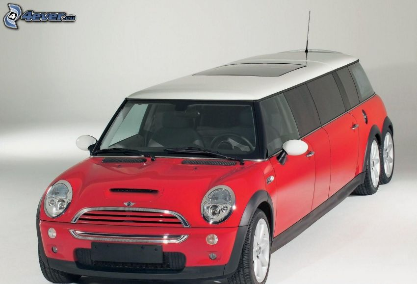 Mini Cooper, Photoshop