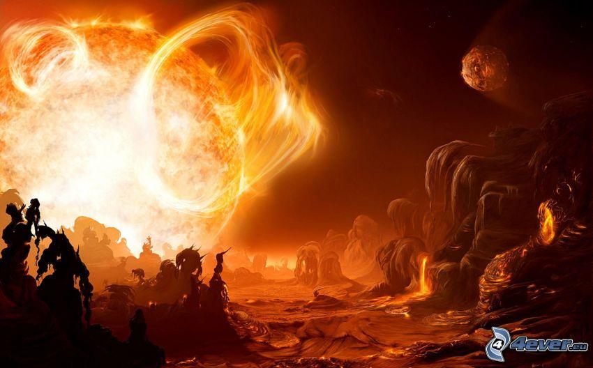 planéta, hviezda